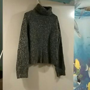 American Eagle thick knit turtle neck sweater